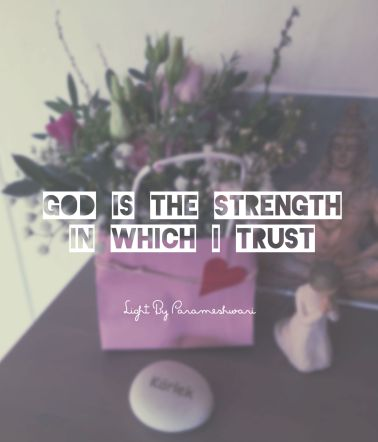 Godisthestrengthinwhichitrust